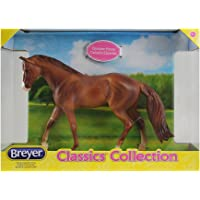 "Breyer Classics Single Collection, Caballo Cuarto de Milla castaño, Multi Color, 11"" x 8"" x 3.25"""