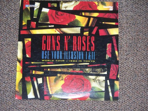 Guns N Roses Use Your Illusion 1 & 2 World Tour 1992 In Tokyo Laserdisc
