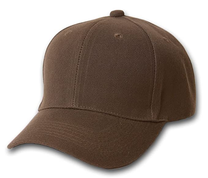 b2b7f6d5fb3 Image Unavailable. Image not available for. Color  Plain Fitted Curve Bill  Hat