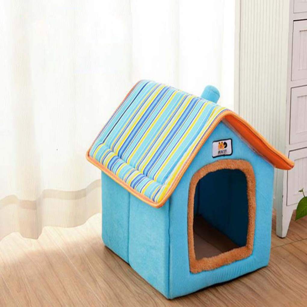 Amazon.com : Krastal Dog House Fashion Removable Cover Pet Bed Warm Soft Dog Kennel Nest Cushion Cat Puppy House : Pet Supplies