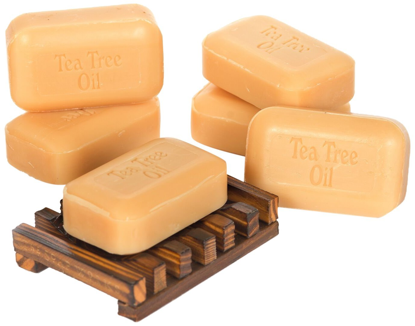 Soap Works Tea Tree Oil Soap Bar, 6-Count