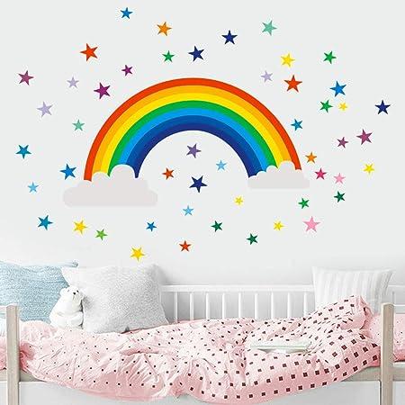 Arc en ciel décoration murale