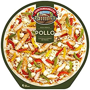 Casa Tarradellas - Pizza Fresca Pollo Asado, 410 g: Amazon ...
