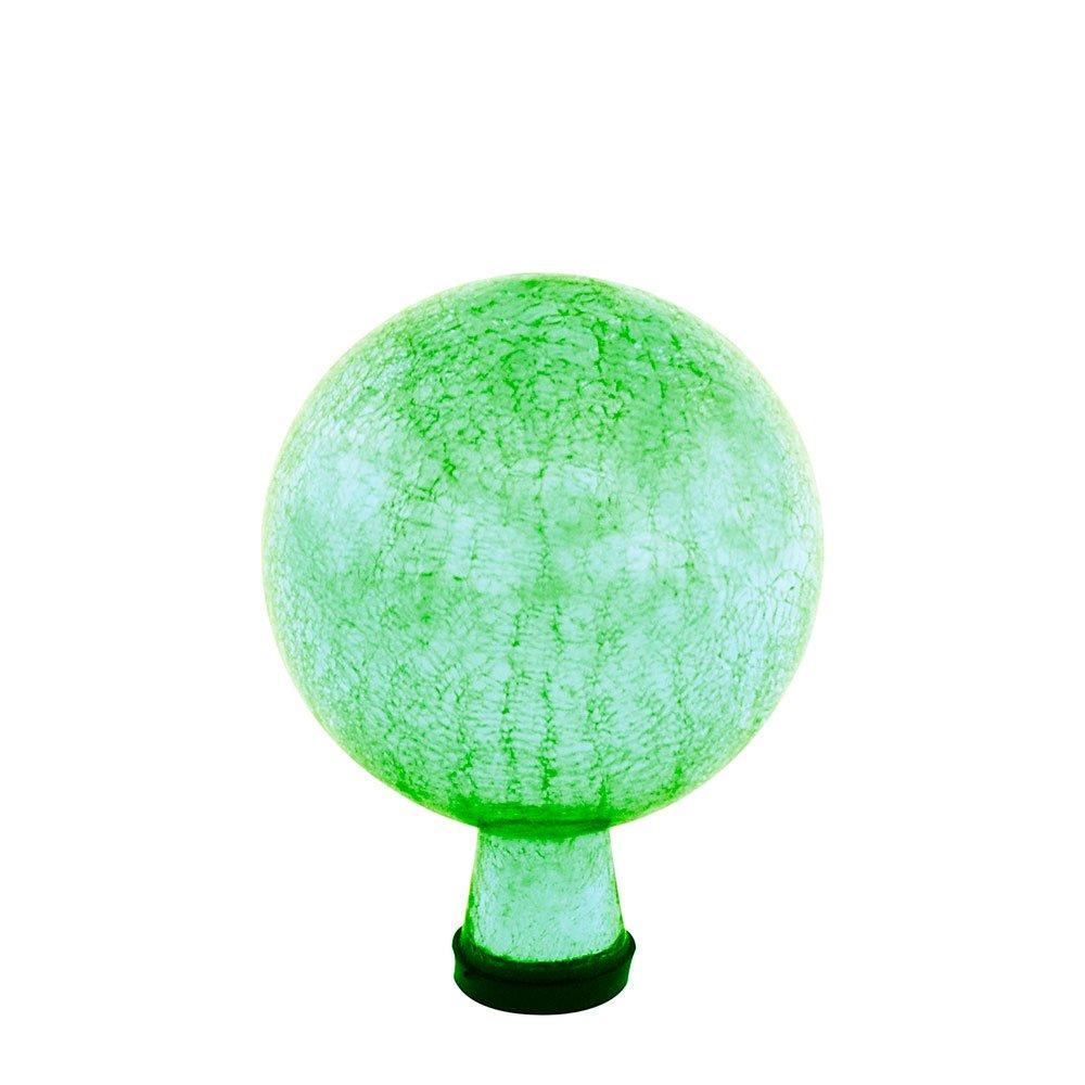 Achla Designs 6-Inch Crackle Gazing Globe Ball, Light Green