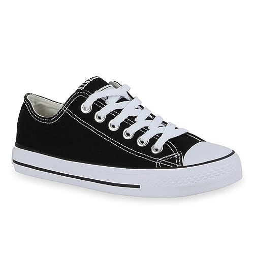 Stiefelparadies - Zapatillas Hombre , color negro, talla 45 EU