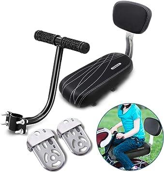 AUVSTAR Cojín para asiento trasero de bicicleta,asiento trasero de ...