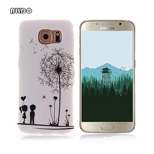 5 opinioni per AllDo Custodia in Silicone per Samsung Galaxy S6 Cover Gomma TPU Custodia