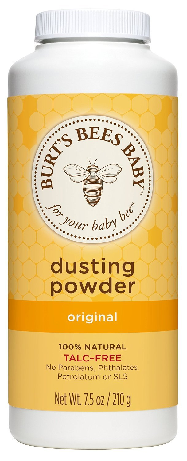 Burt's Bees Baby Dusting Powder, Talc Free, 7.5 Ounce, 3 Count