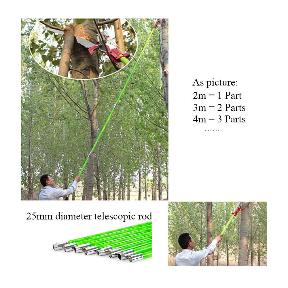 TFCFL Extendable Tree Pruner Garden Tool Pole Saw Branch Long Reach Limb Cutter 26 ft US Warehouse by TFCFL (Image #3)