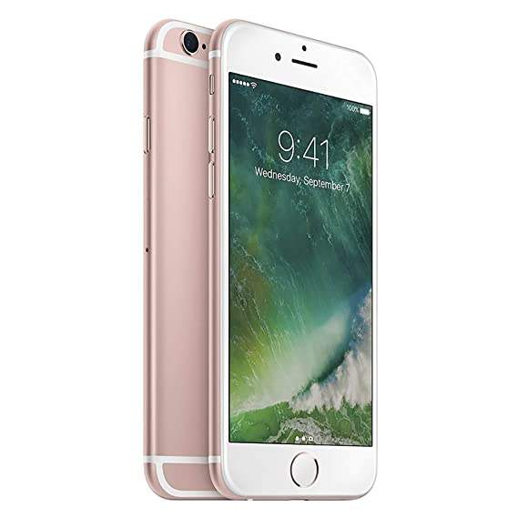 Amazon Com Apple Iphone 6s 64 Gb At T Rose Gold Cell Phones