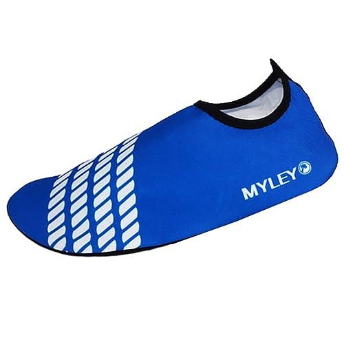 Panegy - Zapatos Deportivos Acuáticos de Agua Aguamarina Unisex Adulto para Hombre Mujer Calzados Skin Shoes para Surf Natación Buceo Playa ...