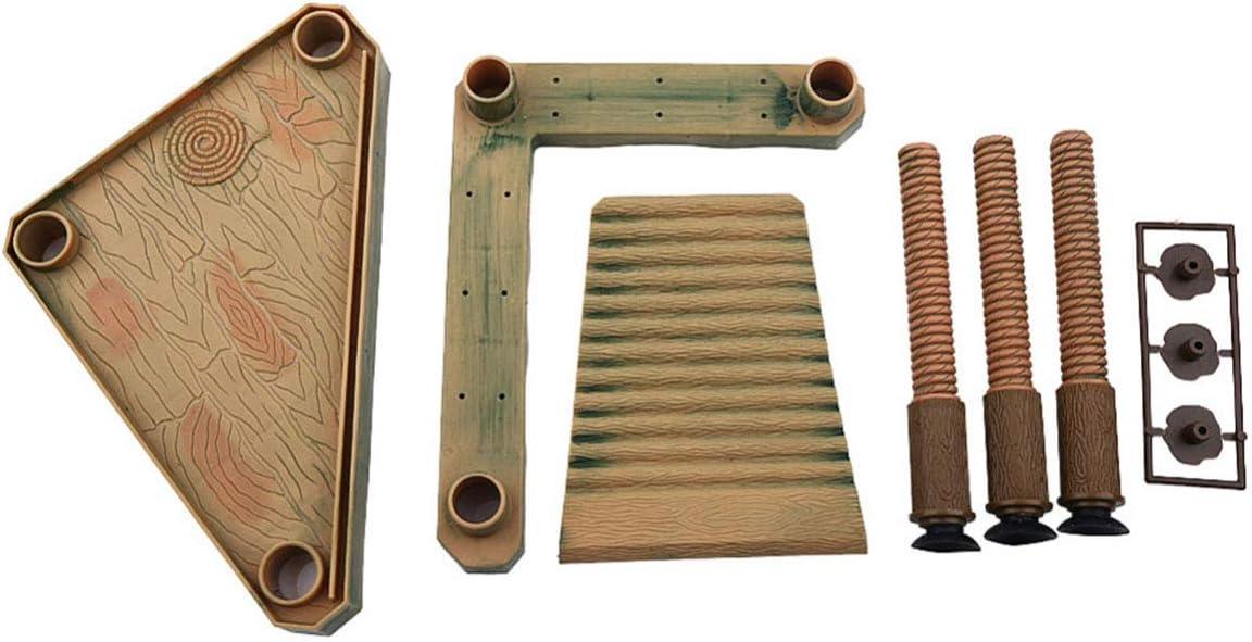 Evilandat - Plataforma Flotante para Tortuga de Yute, terrapina, Repelente, rampa para Mascotas: Amazon.es: Productos para mascotas