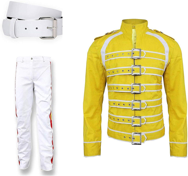 NMFashions Freddie Mercury Concert Queen - Disfraz de algodón ...