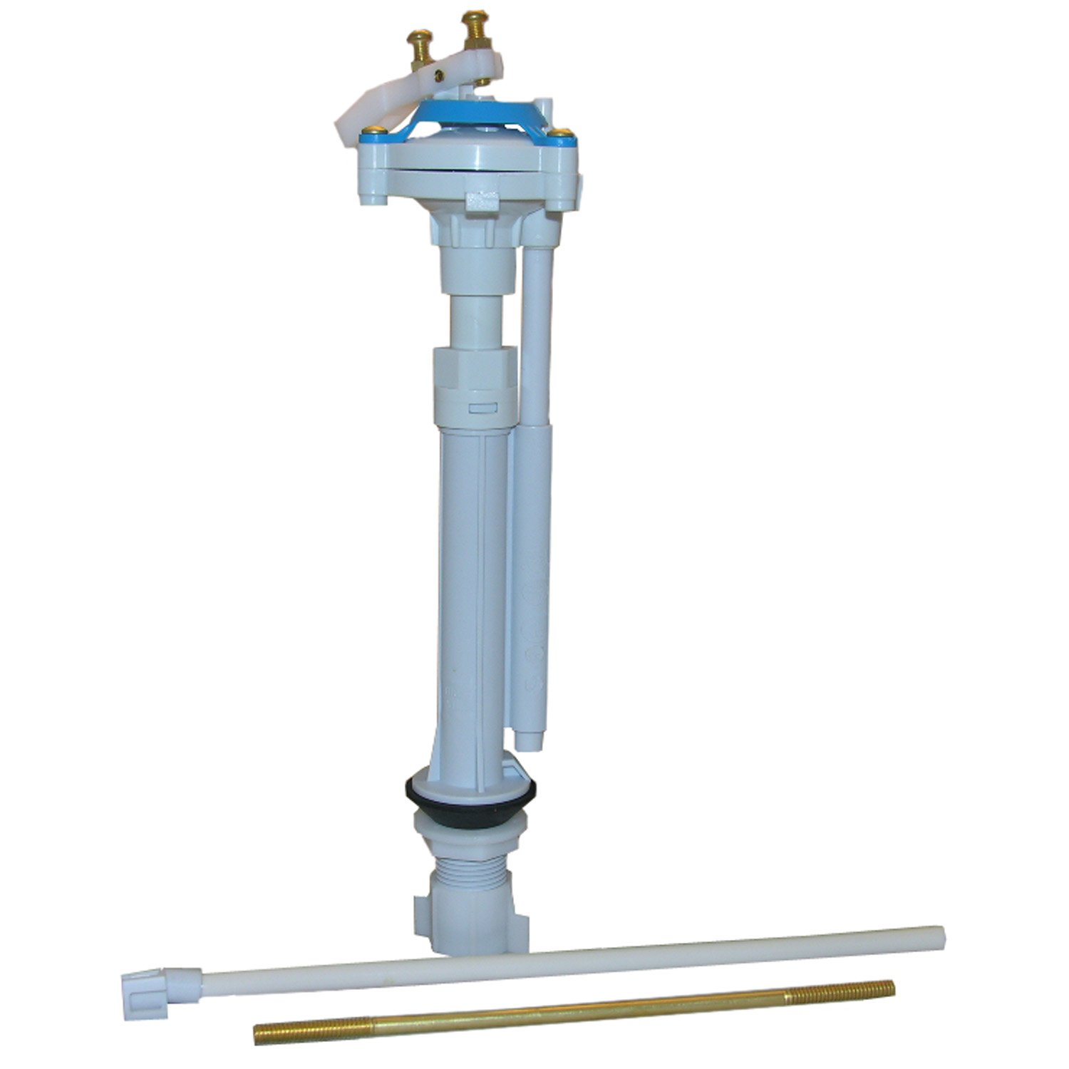 LASCO 04-4039-MASTER 781346 Toilet Ballcock with Anti-Syphon Plastic Adjustable Fill Valve with Float Rod Refill Tube and Nut, 9'' x 13'' by LASCO