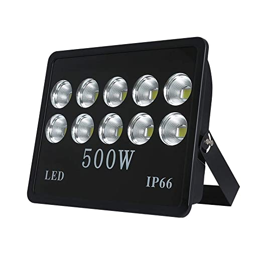 WeDo Luz de inundación de 500W LED ultra brillante de 50000Lm 60 ...