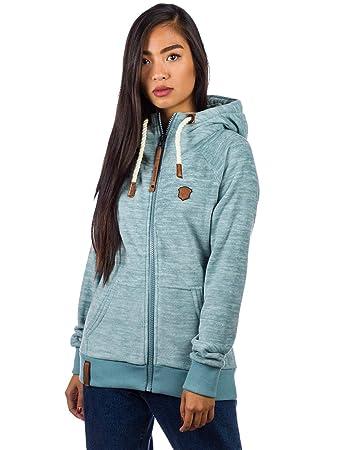 NAKETANO Gigi Meroni Fleece Jacket for Women Grey