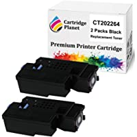Cartridge Planet 2 Pack Black Compatible Toner Cartridge for Fuji Xerox CT202264 (2000 Pages) for Fuji Xerox DocuPrint…