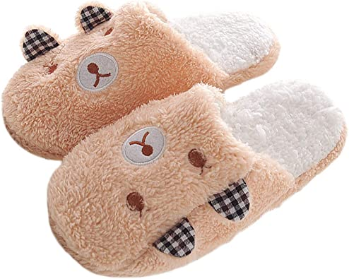 Winter Women Slippers Indoor Shoes Pig Patterned Cotton Plush Home Footwear Shoe