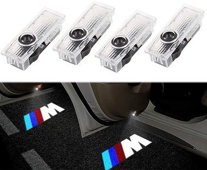 Albright (4 Piezas) Proyector LED de Puerta de Coche proyector ...