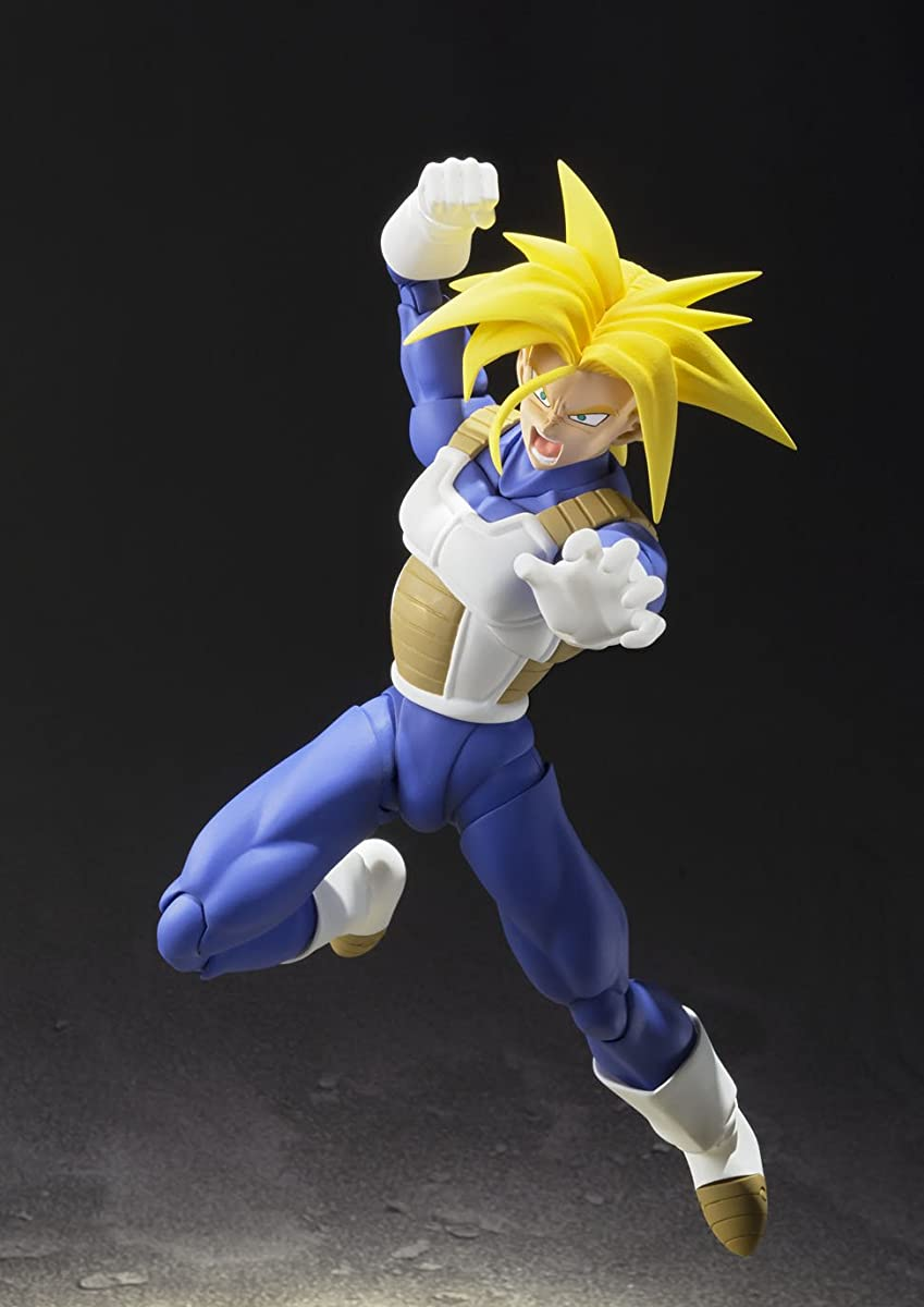 Tamashii Nations Bandai Super Saiyan Trunks (Cell Saga Version) Dragon Ball Z Action Figure
