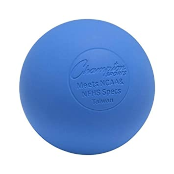 Champion Sports Bolas de Lacrosse de colores: tamaño oficial para ...