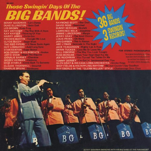 Those Swingin' Days Of The Big Bands ! by Showcase