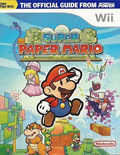 Strategy Guide Super Paper Mario Nintendo product image