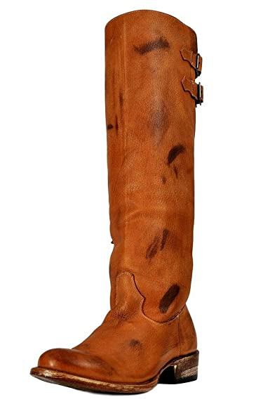 54a87b73cd8 Amazon.com | Johnny Ringo Western Boot Women Fashion Knee Buckle 7.5 ...