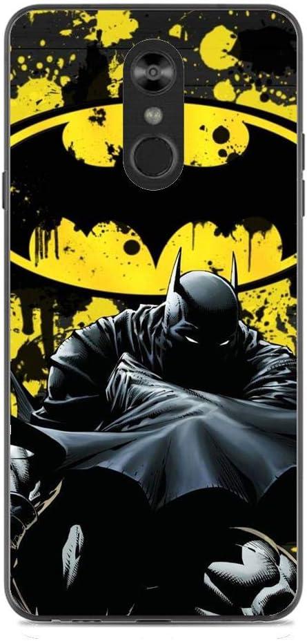 Batman 2 Flexible Slim Soft Gel Protector Case for LG STYLO 4