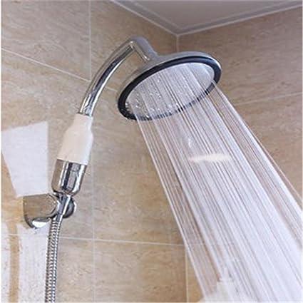 Ducha portátil del calentador de agua de la ducha ducha del acero inoxidable, cabezal de