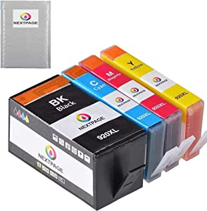 NEXTPAGE Compatible Ink Cartridge Replacement for HP 920XL ( Black, Cyan, Yellow, Magenta , 4 pk )