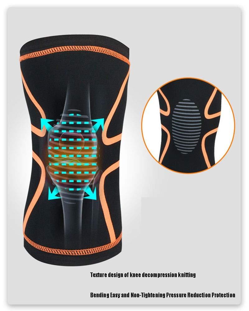 Knee Support Professional Protective Sport M/änner Und Frauen Unter Druck Anti-Kollisions-Breathable Knees Pad-Schutzausr/üstung for Outdoor-Basketball Fu/ßball Reiten