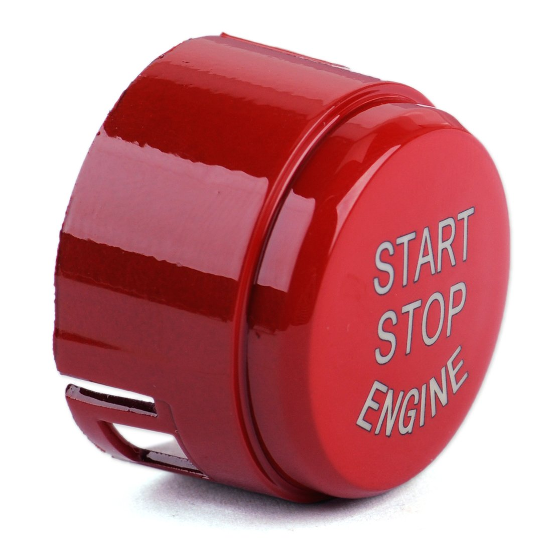 beler Red Start Stop Engine Push Button Switch Cover hermeshine