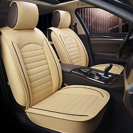Car seat covers fit BMW 5 Series  black  leatherette full set