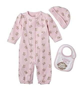 Baby Monkey Size 9M Bodysuit Just One You by Carter/'s