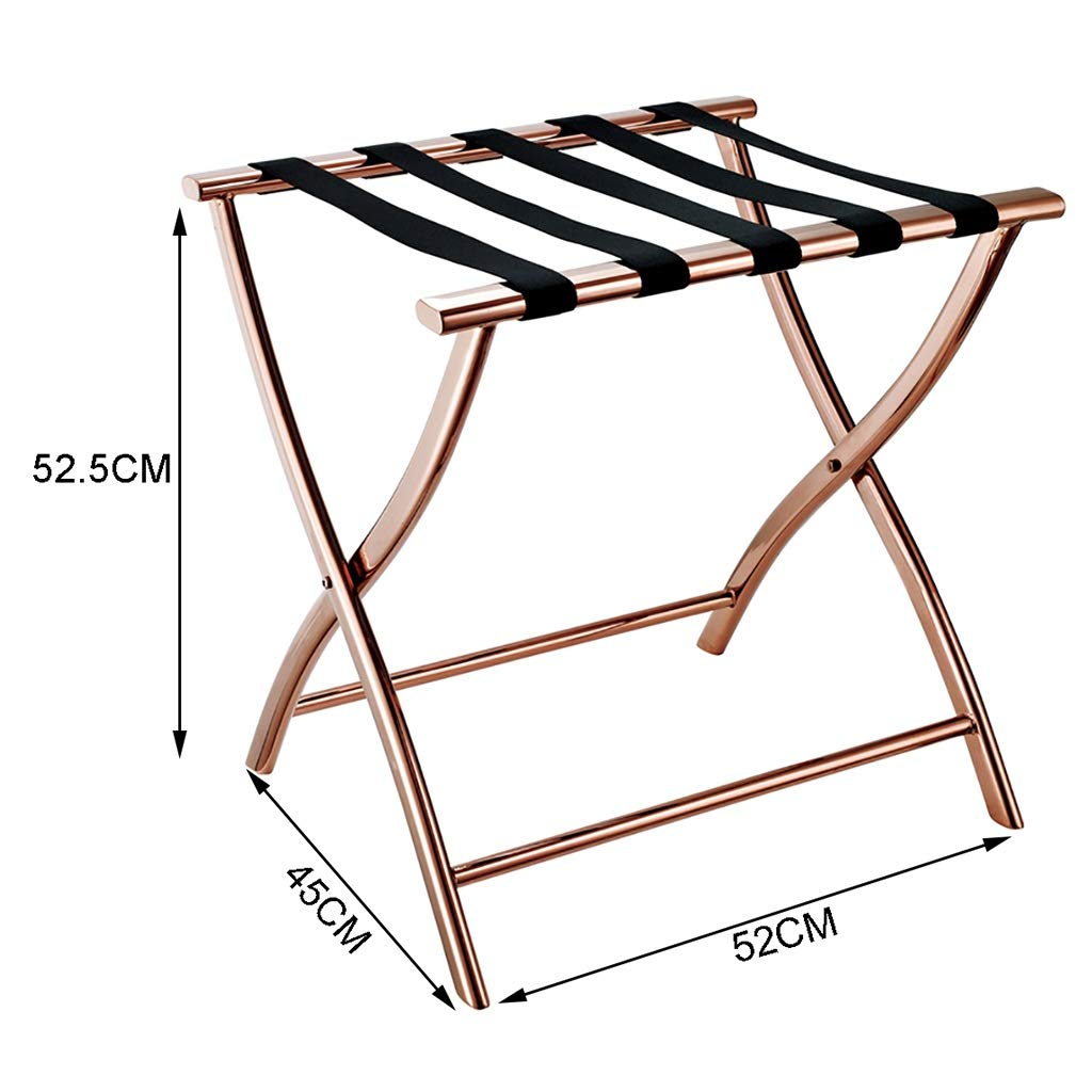 Amazon.com: Folding Luggage Rack Folding Luggage Racks Bedroom Hotel ...