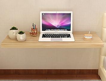Amazon.de: WSSF- Wand-Klapptisch Holz Computer Schreibtisch Einfache ...