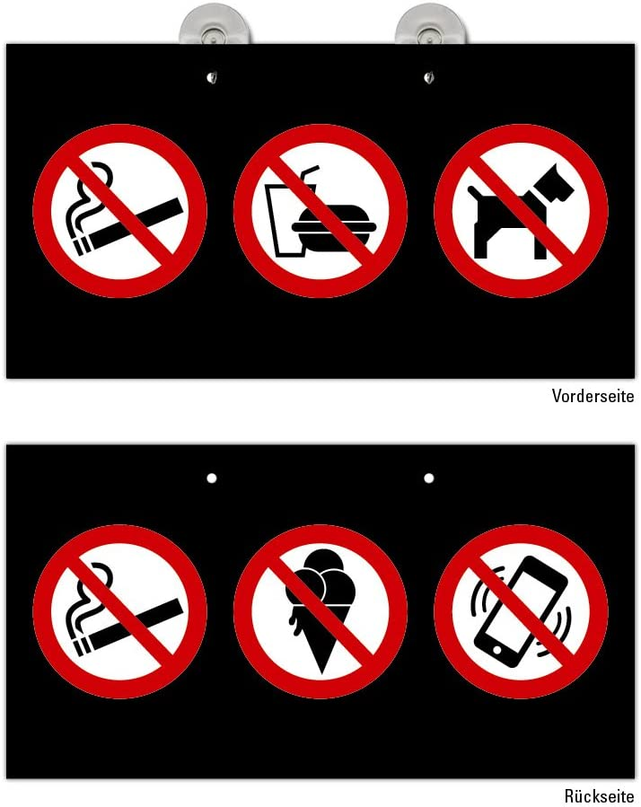 Cartel prohibido llevar los Perros seg/ún ASR a1.3//DIN 7010/aluminio 20/cm de di/ámetro praxisbew/ährt resistente a la intemperie Perros prohibici/ón, prohibido
