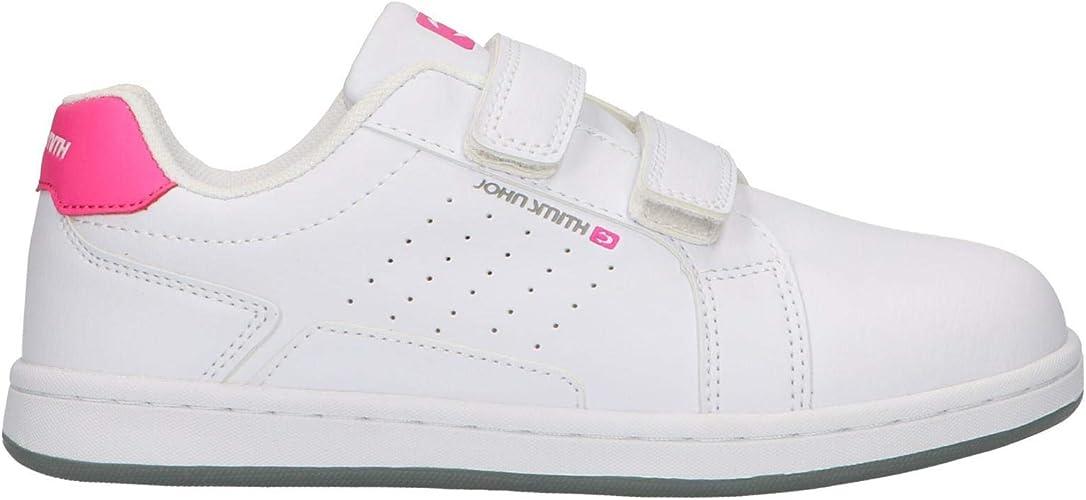 Zapatillas Deportivas John Smith Cocumvel K Blanco y Rosa para niña: Amazon.es: Zapatos y complementos