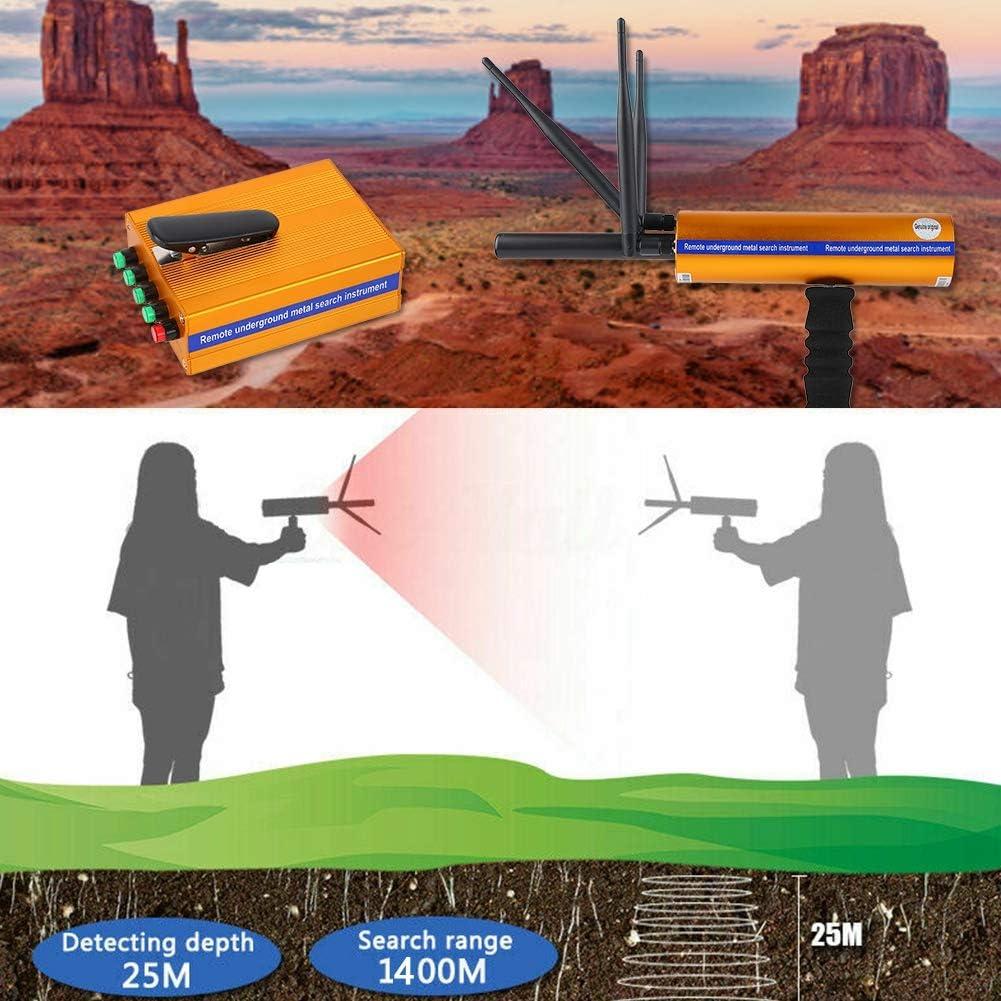 Le cuivre D/étecteur de m/étaux Souterrain Pratique AKS Rechargeable D/étecteur de m/étaux Localisateur Finder Treasure Scanner 1400 m/ètres pour lor UE Les Pierres pr/écieuses largent