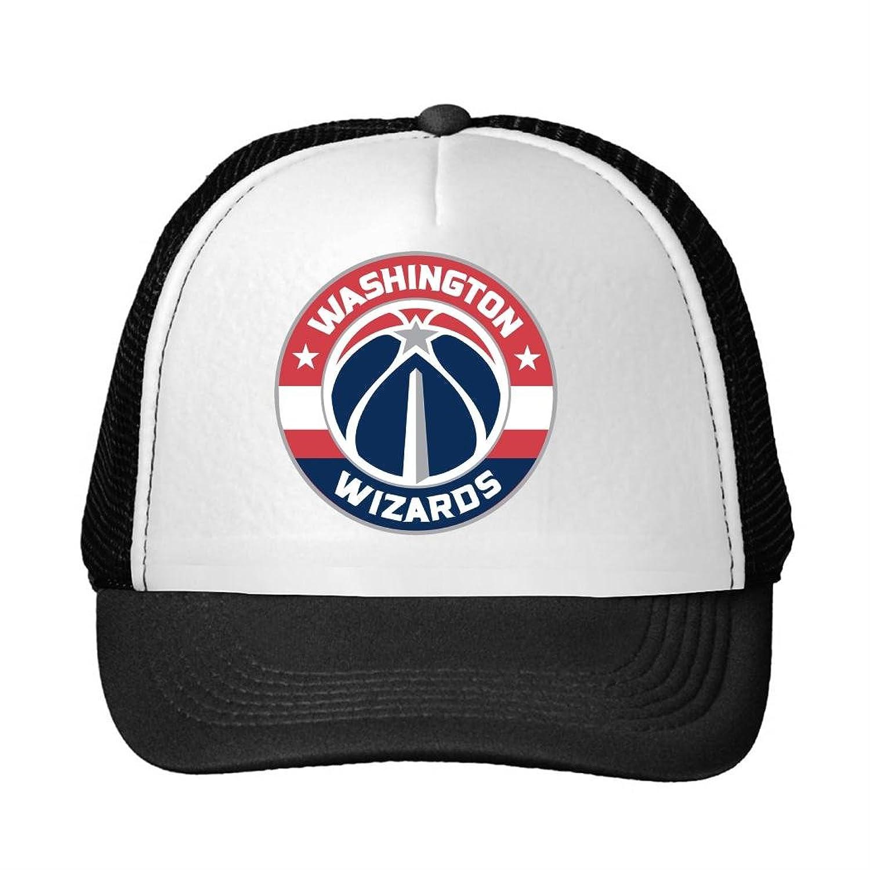 Morden Fashion Adjustable Mesh Hats Mesh Cap For Men and Women Washington Wizards 2016 logo