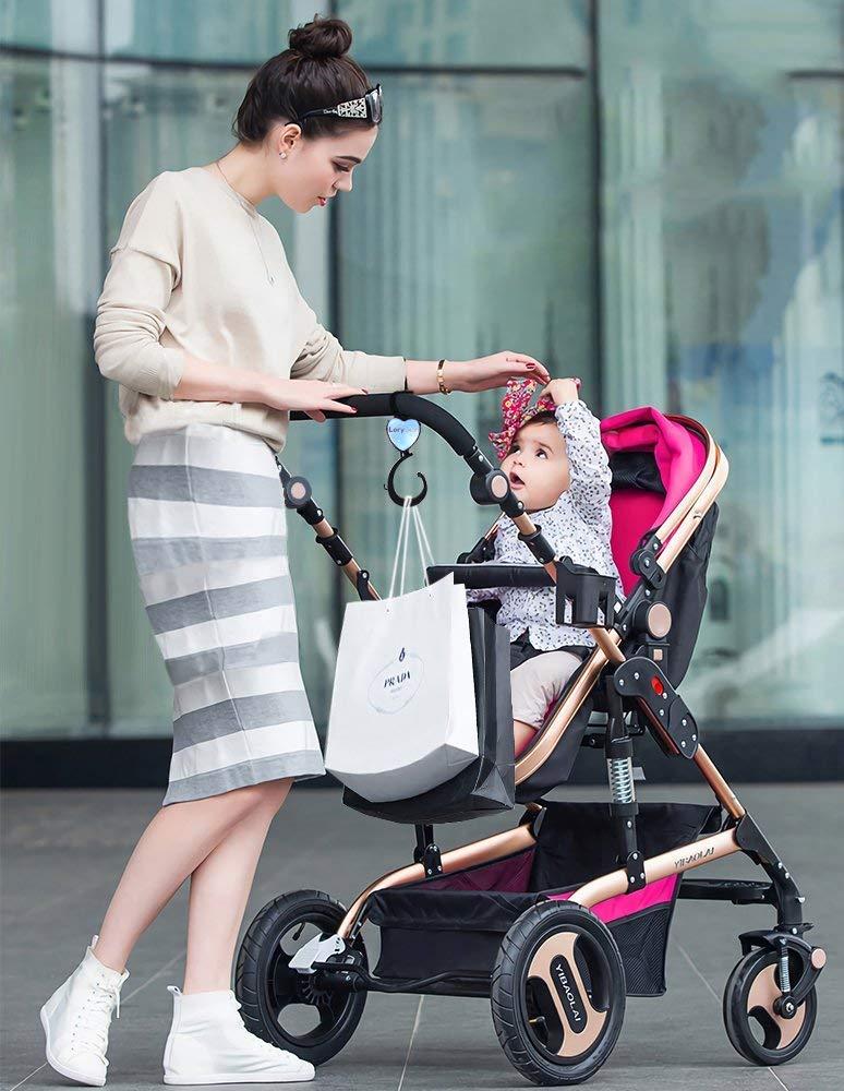 Ganchos Carrito Bebé | Bolsas colgantes de sus bolsas para bebés ...