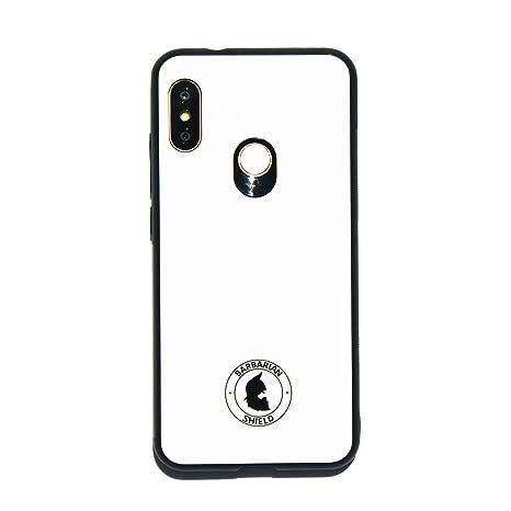 Xiaomi Funda Barbarian Shield A2 Lite Glass Case Blanca