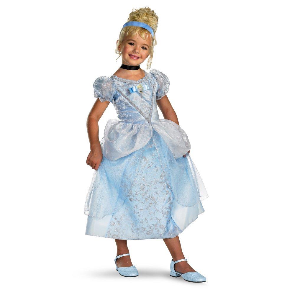 Amazon.com Disneyu0027s Cinderella Cinderella Deluxe - Size Child M(7 - 8) Clothing  sc 1 st  Amazon.com & Amazon.com: Disneyu0027s Cinderella Cinderella Deluxe - Size: Child M(7 ...