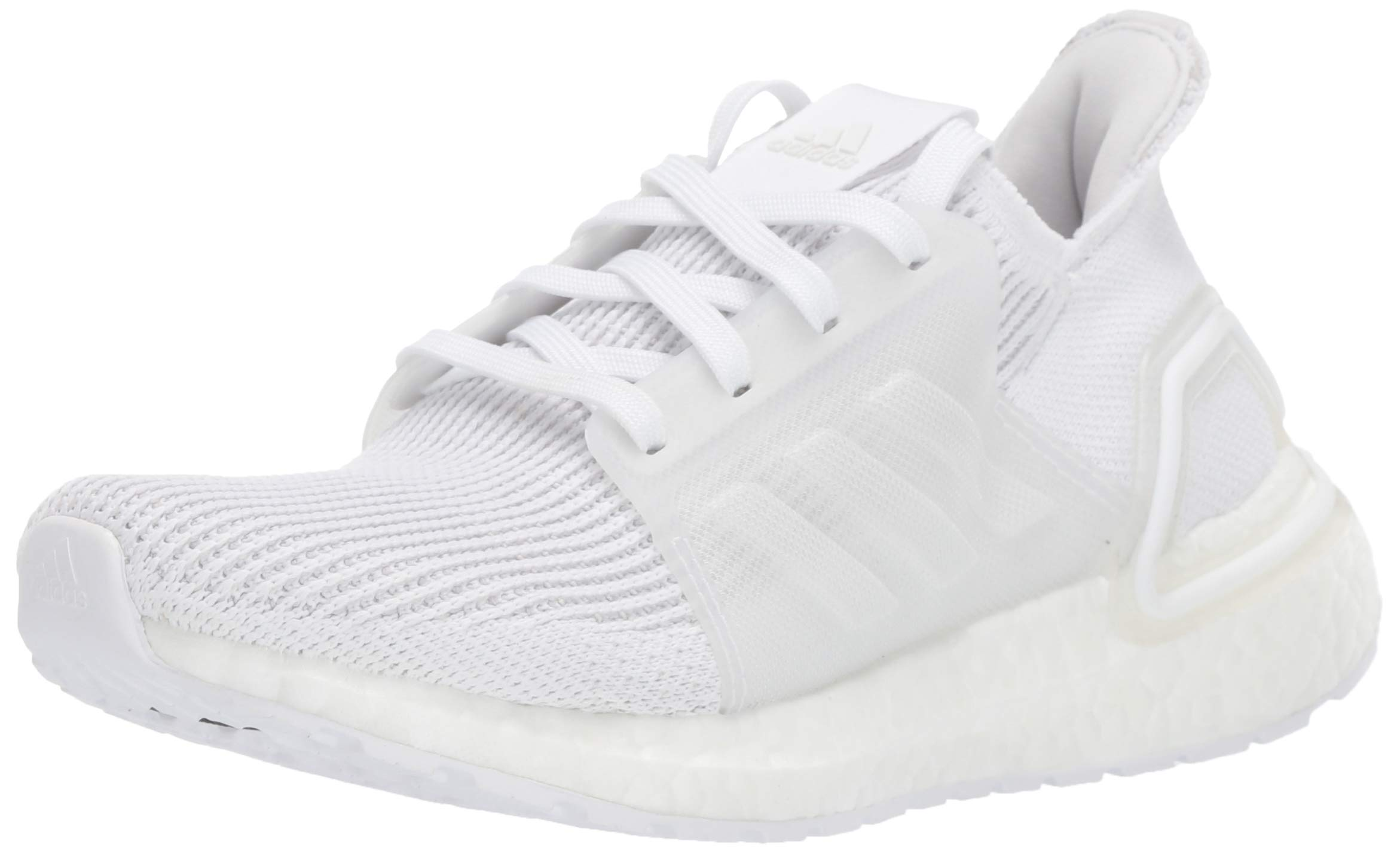 adidas Unisex Ultraboost 19 Running Shoe, White/Grey, 6 M US Big Kid by adidas