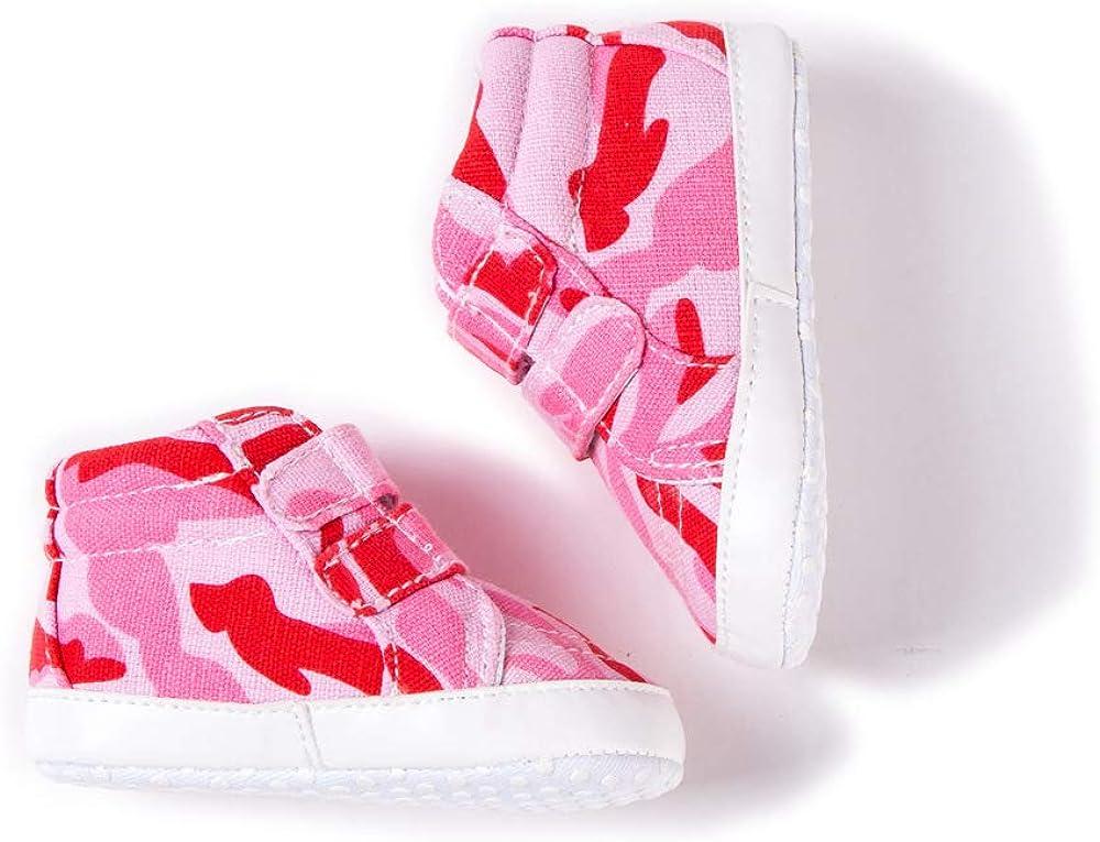 Morbuy Chaussures B/éb/és Unisexe Enfants Gar/çons Filles Camouflage Nouveau N/é Toddler Fond Mou Antid/érapant Premi/ères Pas Chaussures Marcheurs
