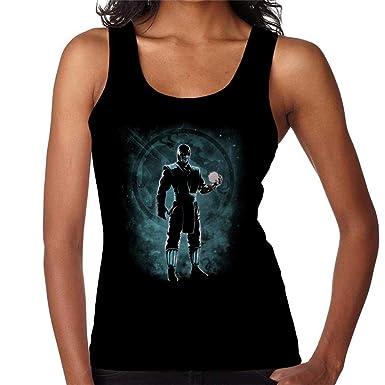 Sub Zero Ice Ninja Mortal Kombat Womens Vest: Amazon.es ...