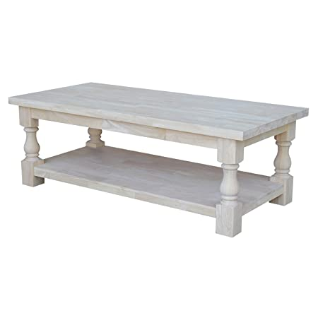International Concepts Tuscan Coffee Table, 51 by 23-Inch