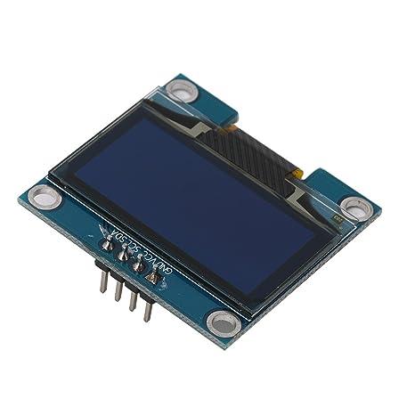 onpiece 1.3 inch IIC I2 C 128 x 64 azul OLED módulo de pantalla LED LCD