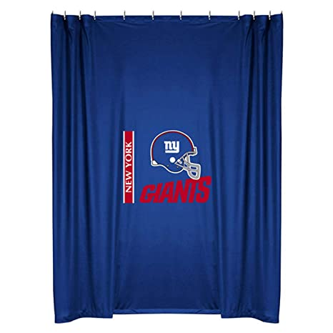 Sports Coverage New York Giants Shower Curtain
